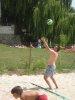 Koupání a volejbal v Písku